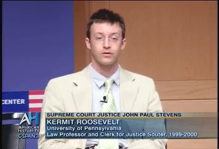 Kermit Roosevelt Iii Legacy of Supreme Court